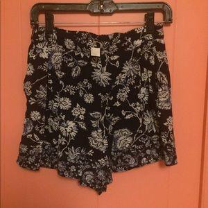 H&M Flower Printed Shorts